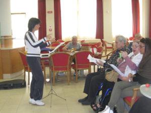 prove canto con Santa Chiara e ragazzi Mandria 005