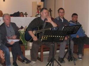 prove canto con Santa Chiara e ragazzi Mandria 007