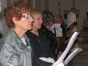 prove canto con Santa Chiara e ragazzi Mandria 008