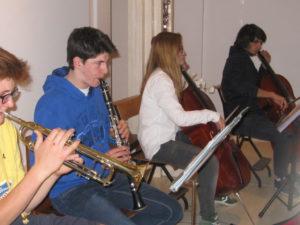 prove canto con Santa Chiara e ragazzi Mandria 011