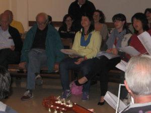prove canto con Santa Chiara e ragazzi Mandria 014