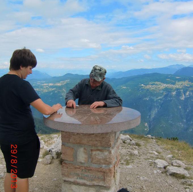 Salita al monte Spitz