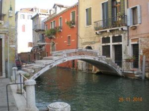 Ponte Chiodo sul rio S.Felice - ultimo ponte senza balaustre