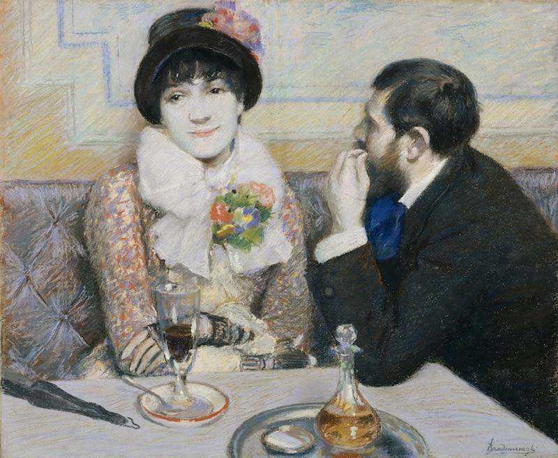 L'impressionismo di Zandomeneghi a Palazzo Zabarella