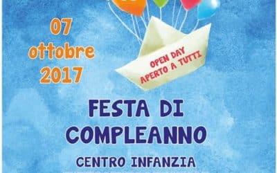 """Festa di compleanno CENTRO INFANZIA """"Clara e Guido Ferro"""""""