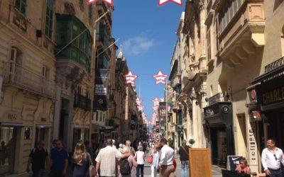 Navigando da Genova a Malta