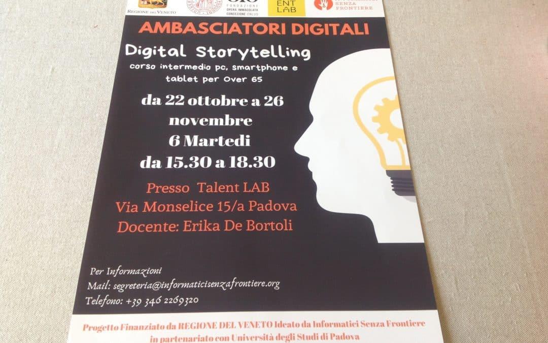 """E' in arrivo anche il """"digital story telling"""""""