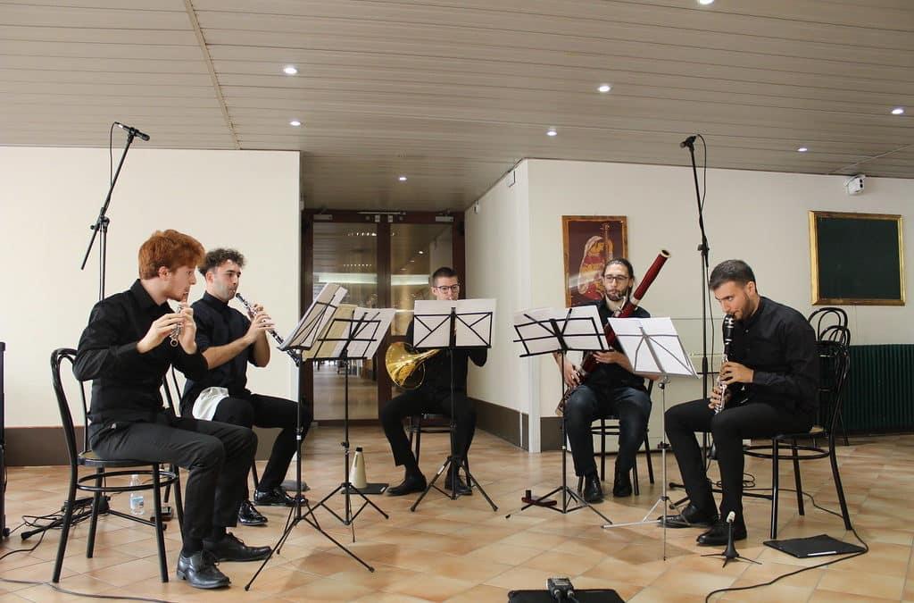 """Il quintetto """"ANTENORE"""" al Santa Chiara"""